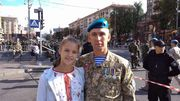 ВИСОЧАНСЬКА: «Батько був останнім, хто вийшов з Донецького аеропорту живим»