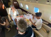 ФОТО. Роскошный частный самолет Криштиану Роналду