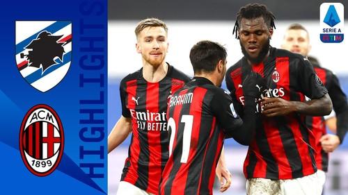 Сампдория – Милан – 1:2. Видео голов и обзор матча