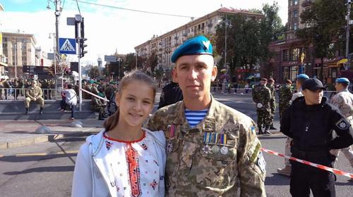 ВЫСОЧАНСКАЯ: «Отец был последним, кто вышел из Донецкого аэропорта живым»