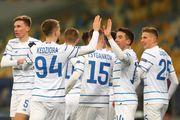 Динамо стало автором 100-й домашней победы наших команд в Лиге чемпионов