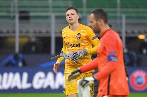 Трубин вошел в топ-3 Лиги чемпионов по числу сейвов