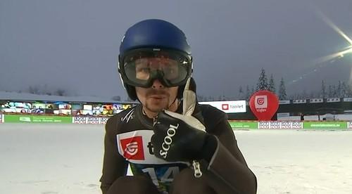 Калиниченко с рекордом Украины вышел в финал ЧМ по полетам на лыжах