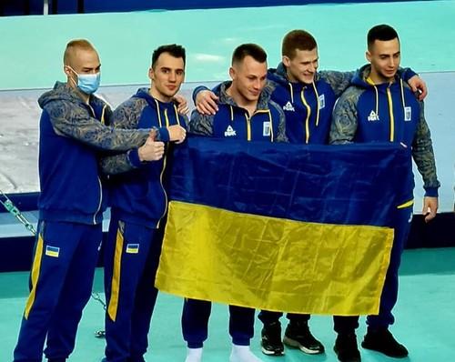Украинские гимнасты стали чемпионами Европы в командном первенстве