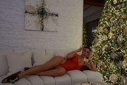 ФОТО. Невеста Роналду сфотографировалась под елкой