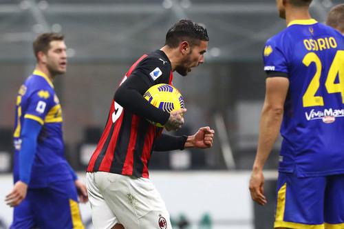 Милан убежал на ничью в игре против Пармы благодаря дублю Тео Эрнандеса
