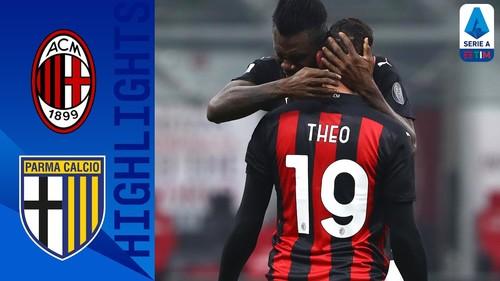 Милан – Парма – 2:2. Видео голов и обзор матча