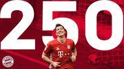 Больше только у двоих. Левандовски забил 250-й гол в Бундеслиге
