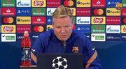 Рональд КУМАН: «Первый тайм Барселоны был фантастическим»