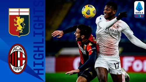 Дженоа – Милан – 2:2. Видео голов и обзор матча