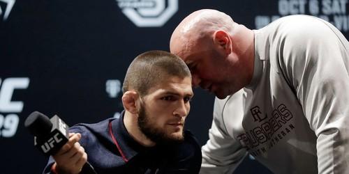 Глава UFC: «Обсудим с Хабибом возвращение. Его отец хотел бы рекорда 30-0»