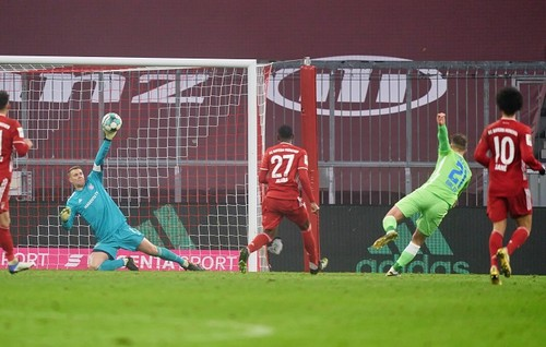 Бавария – Вольфсбург – 2:1. Видео голов и обзор матча