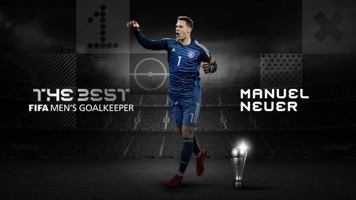 Он из Германии. ФИФА назвала лучшего вратаря 2020 года