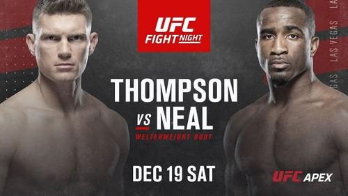 Где смотреть онлайн UFC: Стивен Томпсон – Джефф Нил