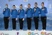 Женская сборная Украины — чемпион Европы по спортивной гимнастике