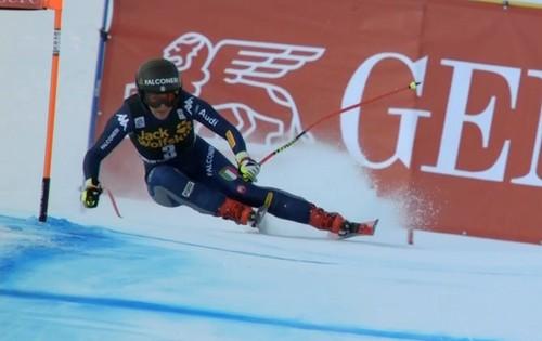 Гірські лижі. Годжа виграла швидкісний спуск в Валь д'Ізері