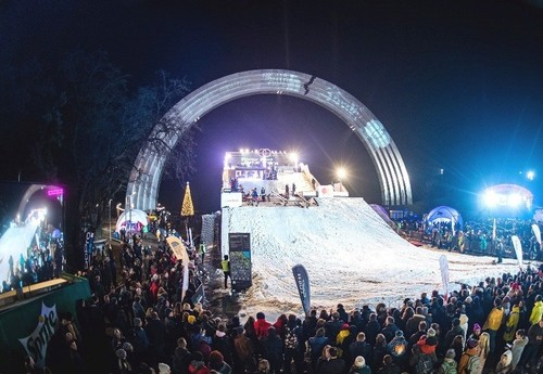 Дабл Трипл Snow Fest 2020. Шоу в Киеве. Смотреть онлайн. LIVE трансляция