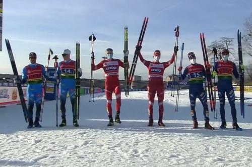Лыжные гонки. Россия и Швейцария выиграли командные спринты в Дрездене