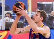 Артем Пустовой провел удачный матч и помог Барселоне победить