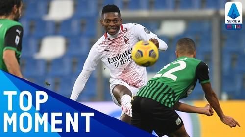 Сассуоло – Милан – 1:2. Видео голов и обзор матча
