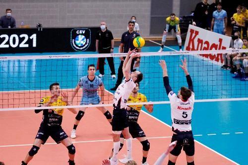 Волейбольные еврокубки возобновятся в конце января