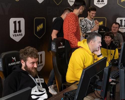 Natus Vincere провели шоу матч между звездами и легендами в Dota 2 и CS:GO