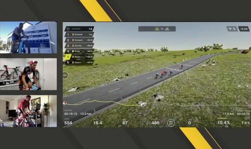 Бельгійський велогонщик Ван Авермат виграв віртуальний Тур Фландрії