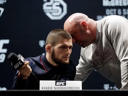 Дэна Уайт подтвердил, что Хабиб не выступит на UFC 249