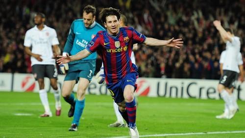 ВИДЕО. Ровно десять лет назад Месси оформил покер в матче с Арсеналом