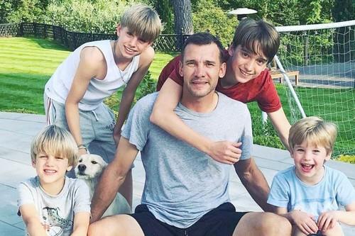 ФОТО. Бородатый папа и суперзвезда. Как Шевченко поздравил сына с 6-летием