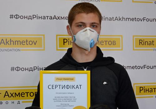 Молодий гравець Шахтаря здав тест на коронавірус та дізнався результат