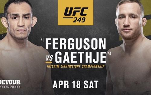 Где-то на планете Земля! Гейджи официально заменил Хабиба на UFC 249