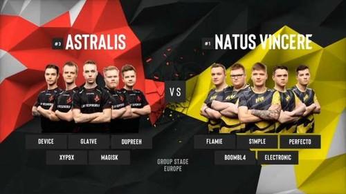 Больше всех матчей в 2020-м году NAVI сыграли с Astralis