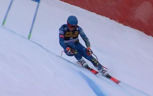 Горные лыжи. Кокран-Зигле одержал первую победу в карьере
