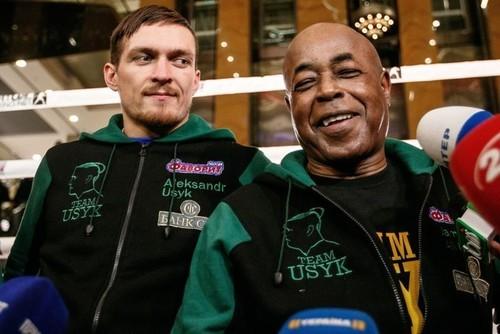 БАШИР: «Увидев Усика, я понял, что он может стать чемпионом за 8-9 боев»