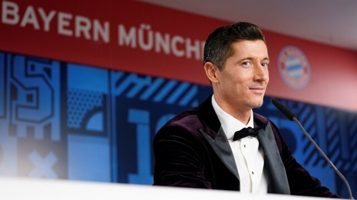Левандовскі визнаний спортсменом року за версією асоціації спортивної преси