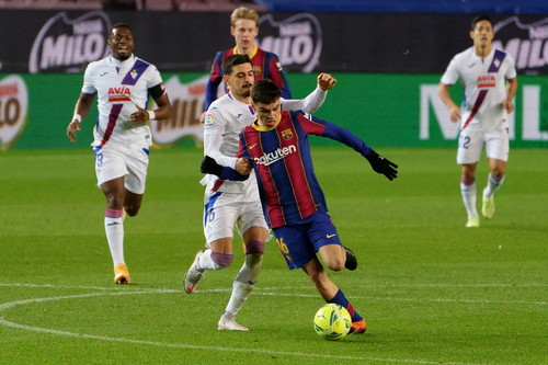Барселона не змогла вдома обіграти Ейбар