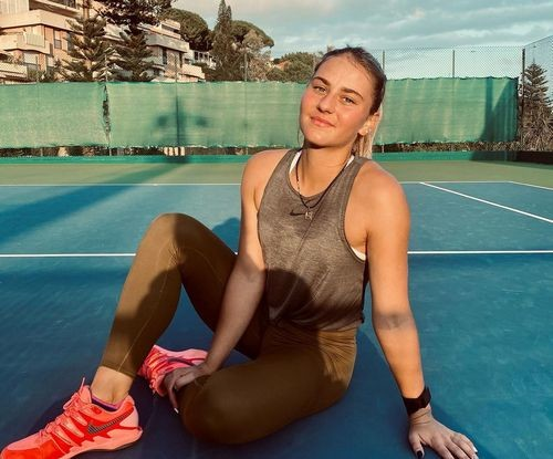 ФОТО. Марта Костюк тренується з чемпіонкою US Open-2019