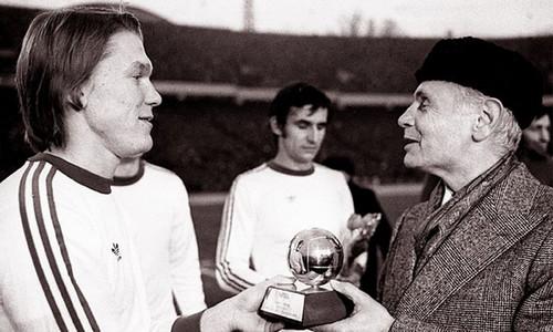 45 лет назад Блохин был признан лучшим футболистом Европы
