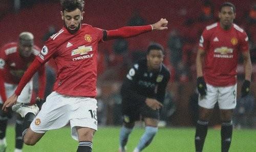 Манчестер Юнайтед с трудом обыграл Астон Виллу