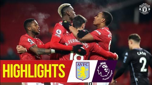 Манчестер Юнайтед – Астон Вилла – 2:1. Видео голов и обзор матча