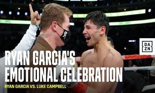 ВИДЕО. Эмоции Гарсии после победы над Кэмпбеллом