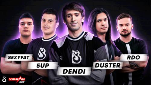 Dendi взял в свою команду трех бразильцев