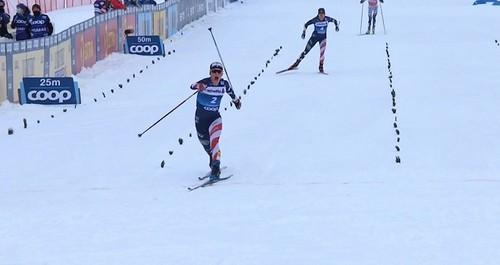 Тур де Ски. Диггинс перехватывает лидерство в общем зачете