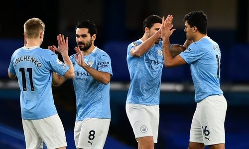 Манчестер Сити с Зинченко в составе обыграл Челси на Стэмфорд Бридж