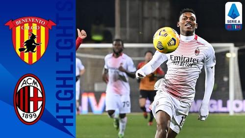 Беневенто – Милан – 0:2. Видео голов и обзор матча