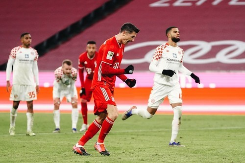 Бавария – Майнц – 5:2. Видео голов и обзор матча