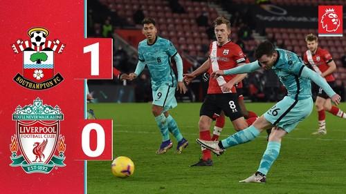 Саутгемптон – Ливерпуль – 1:0. Видео гола и обзор матча