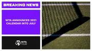 Известен календарь турниров WTA до середины лета