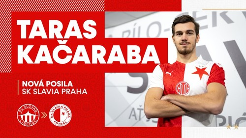 Славія офіційно представила Качарабу. Клуб орендував футболіста